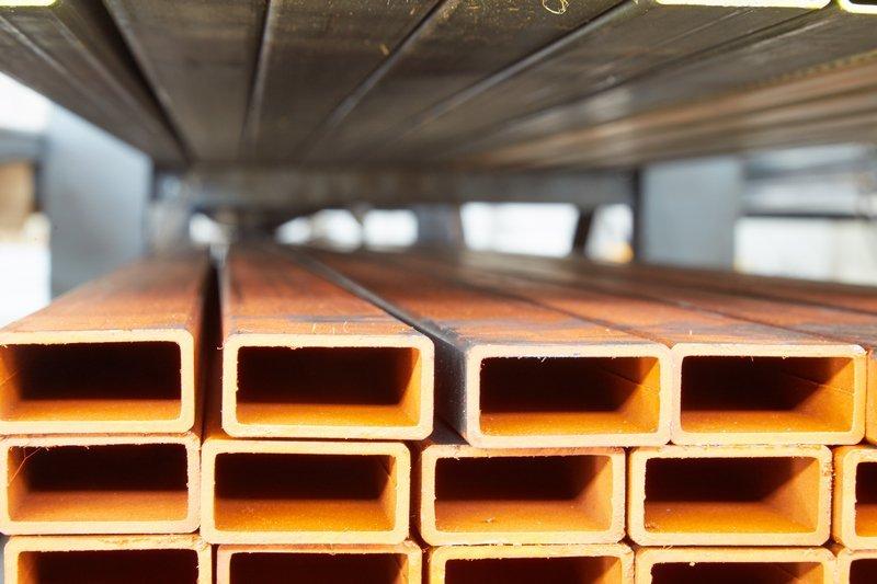 tubi rettangolari per prodotti di carpenteria