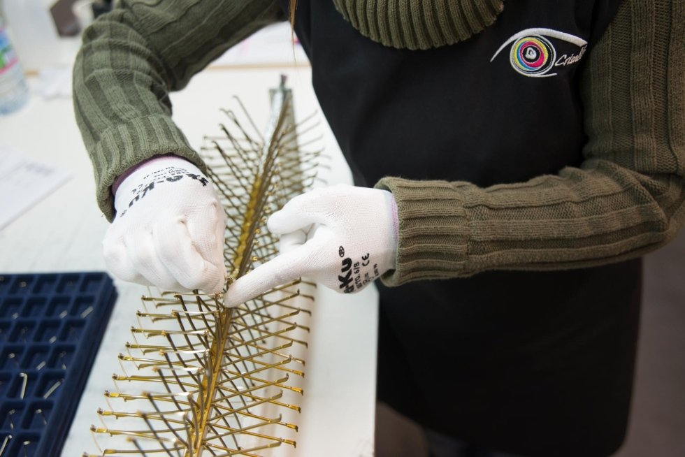 verniciatura preparazione telai