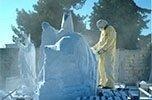 Realizzazione sculture in marmo