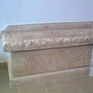 piano in pietra per caminetto