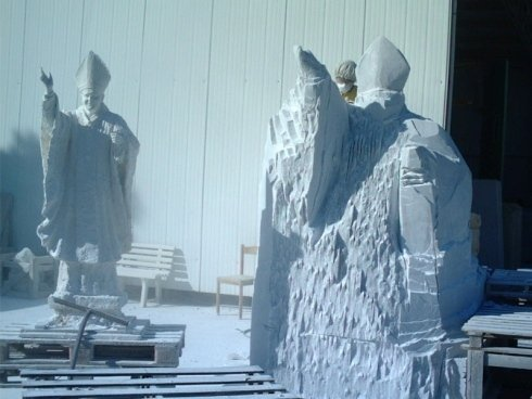 Levigazione sculture