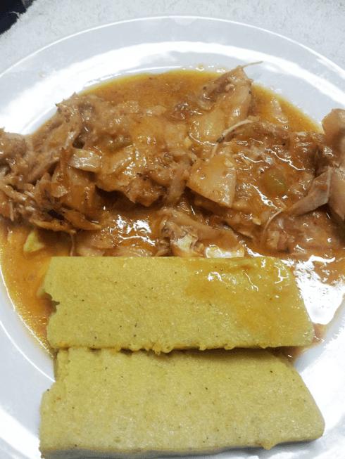 zuppa con polenta