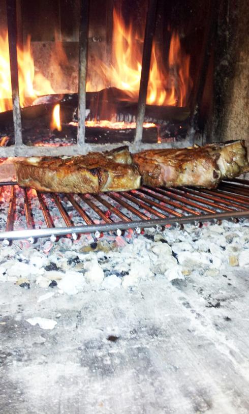 Bistecca alla griglia