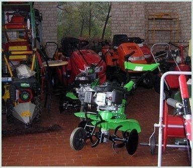 vendita attrezzature giardinaggio
