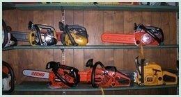 vendita attrezzature disboscamento