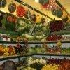 Banchi per frutta e verdura in ferro verniciati a fuoco