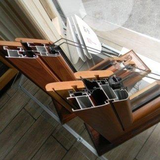 Infissi in alluminio/legno