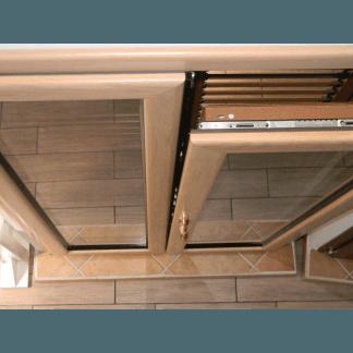 Finestre in alluminio e legno