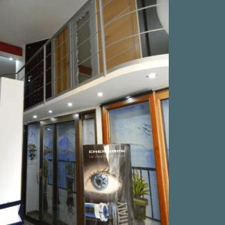 Porte per interni e serramenti in alluminio