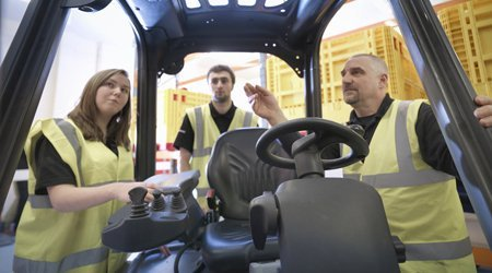 explaining the forklift usage methods