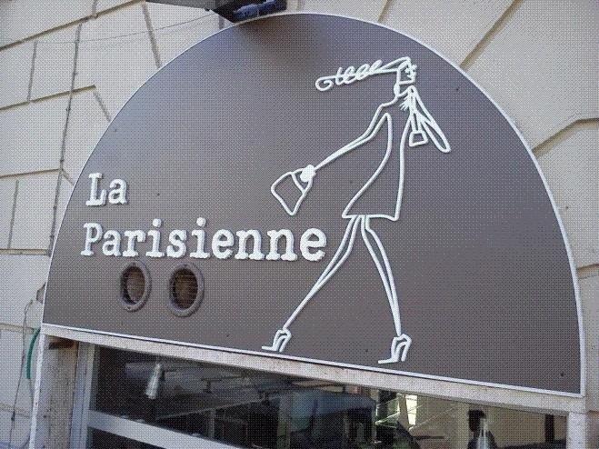 Insegna Le Parisienne