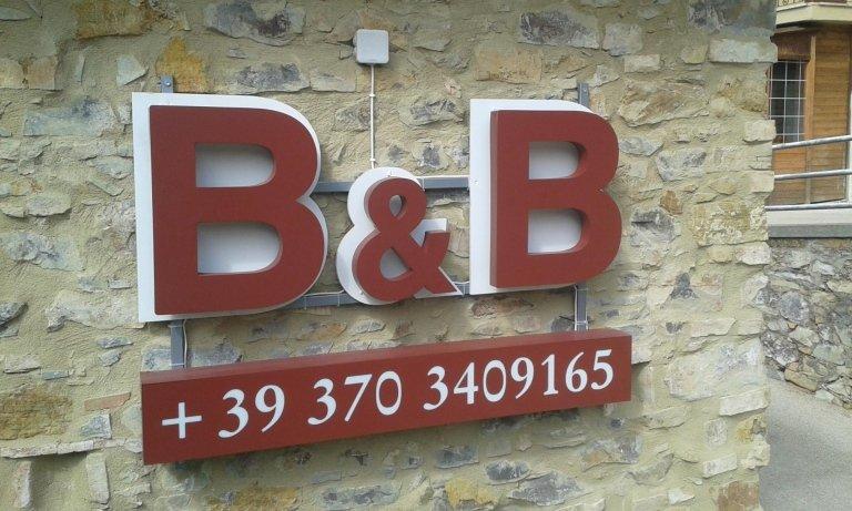 Insegna B&B