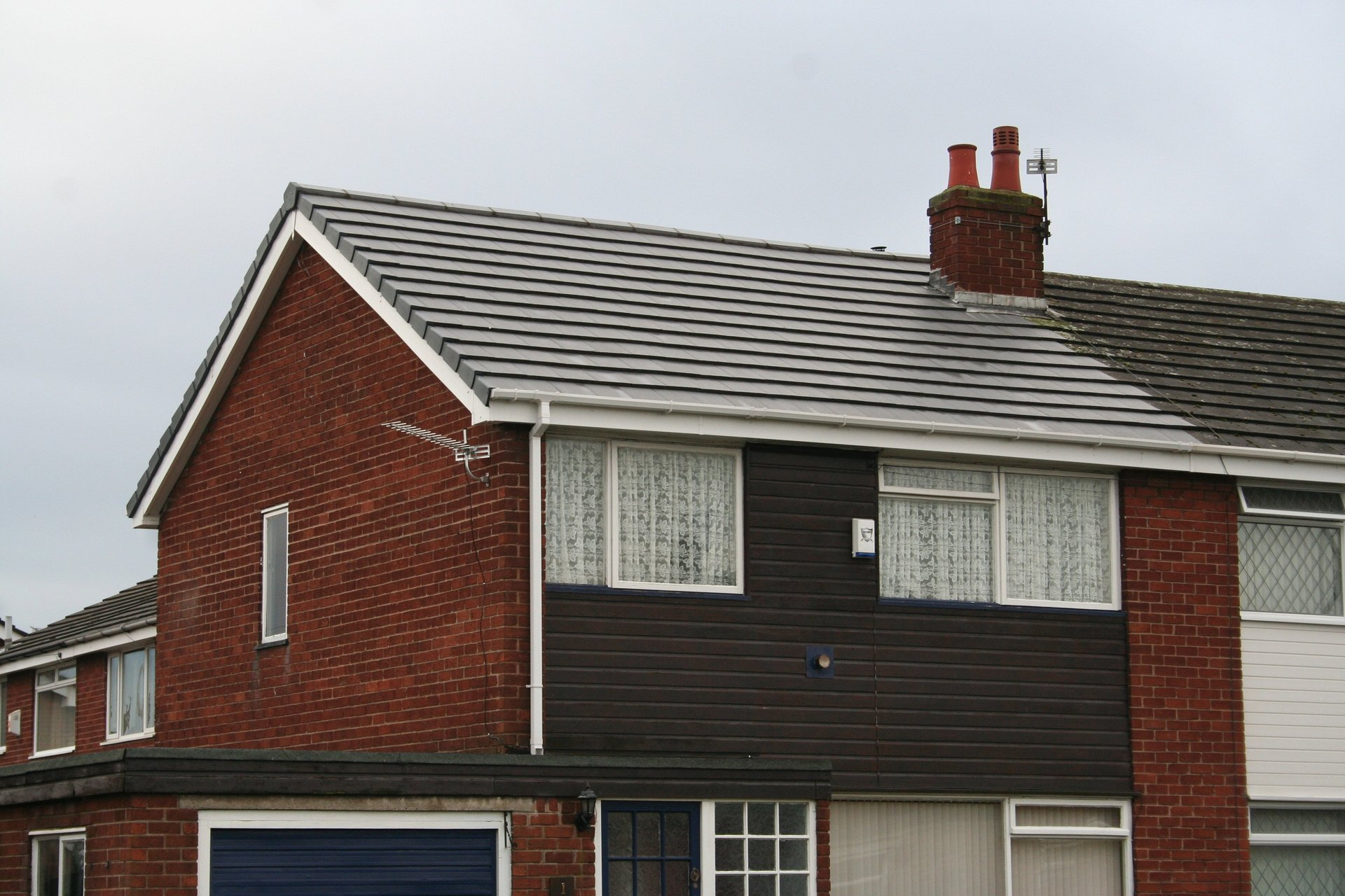 well-installed roofs