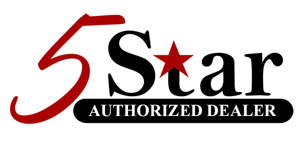 5 Star Auhtorized Dealer logo