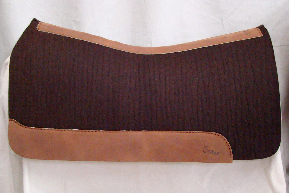 Gulletless Saddle Pad