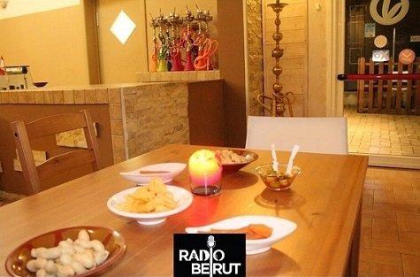 tavolo con specialità libanesi