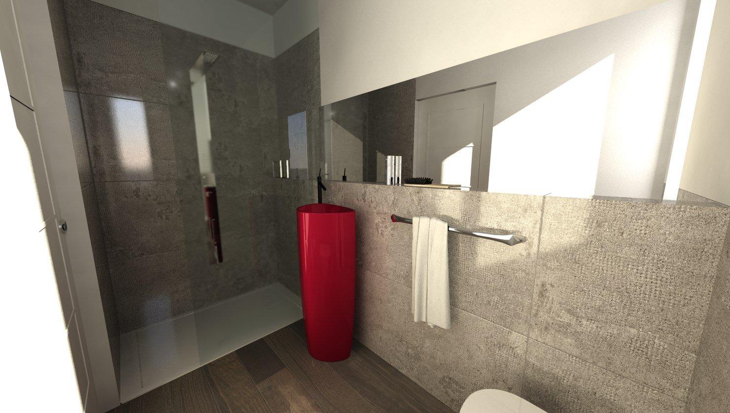 esempio progettazione elementi bagno