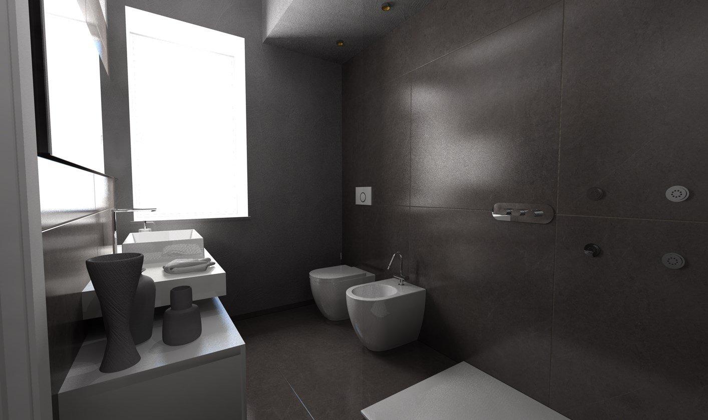 esempio progettazione nuovo bagno