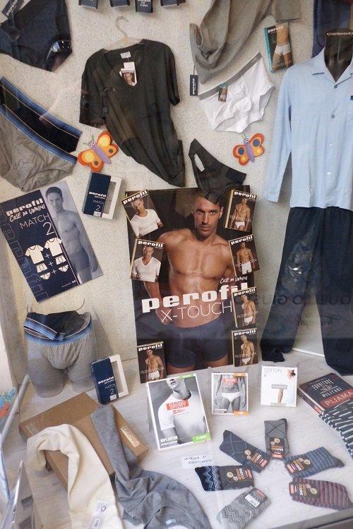 l'abbigliamento intimo da uomo della marca Perofil