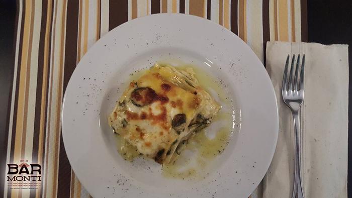 piatto di lasagna