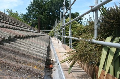 Scaffold Hire - Re-Roof