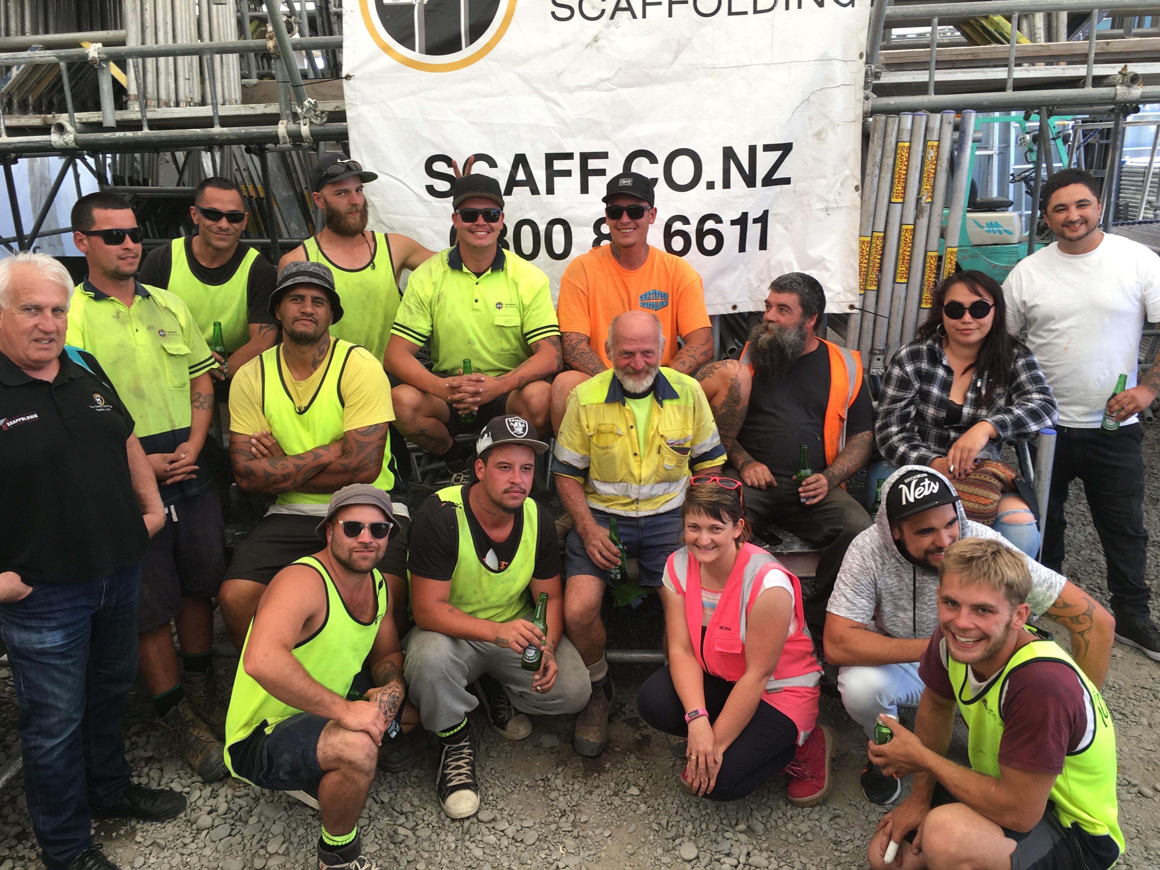 Certified Scaffolding Team