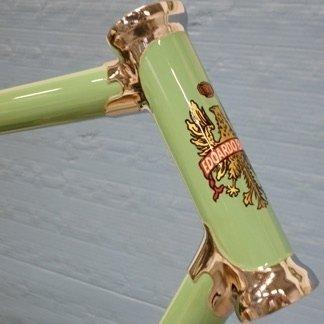 Restauro telaio bici