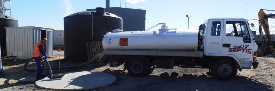 Liquid waste service with tanker in South Otago