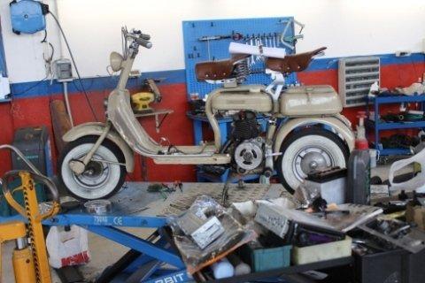 Riparazioni moto d'epoca