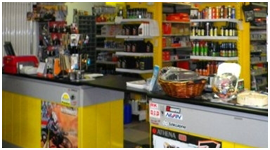 negozio ricambi auto, batterie moto