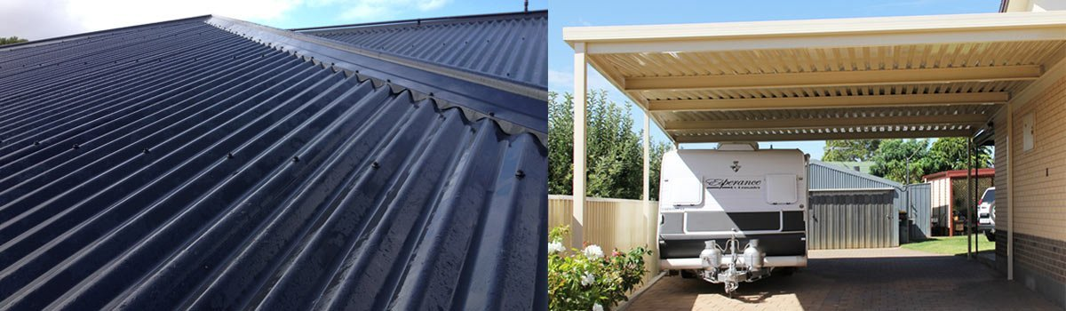 One of our professional carports in Eyre Peninsula