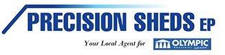 Precision sheds logo