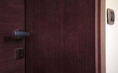 Porta realizzata in legno