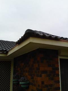 all oz roof plumbing left side view of brick house without roof gutter