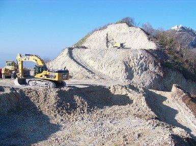 cava estrazione materiali