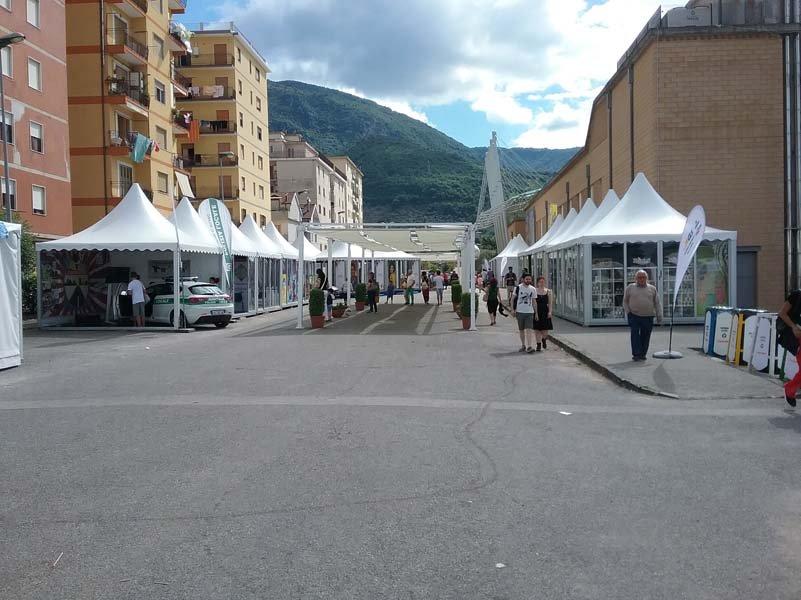 Capannoni del Giffoni Film Festival
