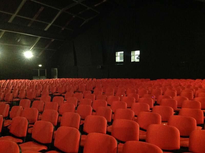 Sedie rosse da cinema