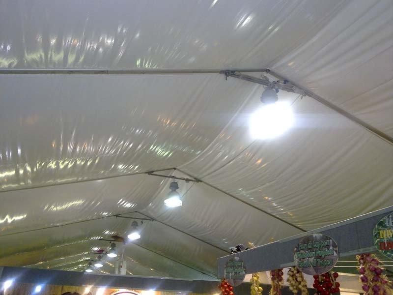 Sottocieli per feste ed eventi con illuminazione