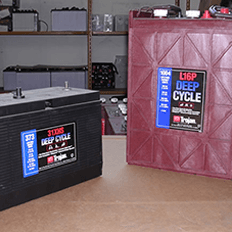 batterie uso insudtriale