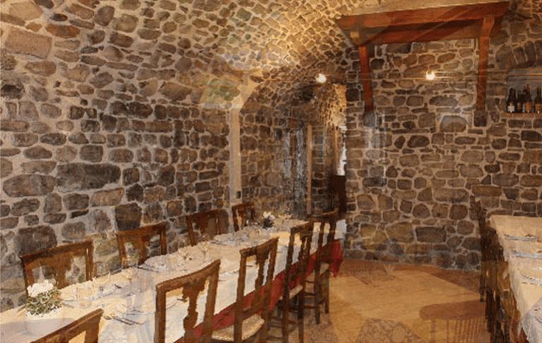 sala ristorante antica osteria