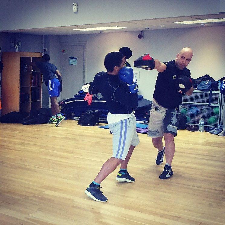 kickboxing defense lesson
