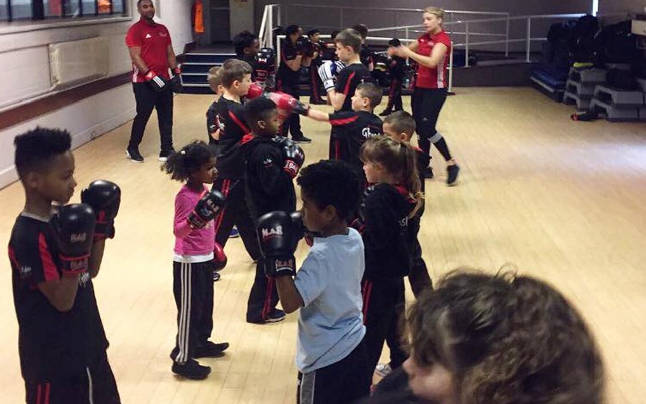 kickboxing lessons for children