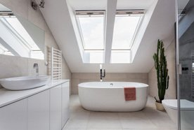 Relax in our elegant bathrooms