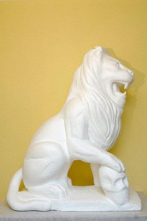 scultura in polistirolo