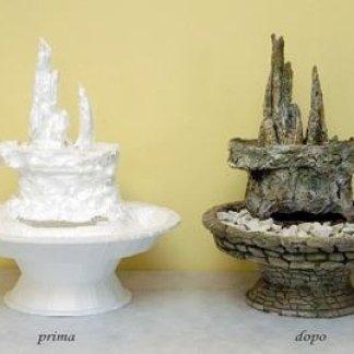 fontane in polistirolo