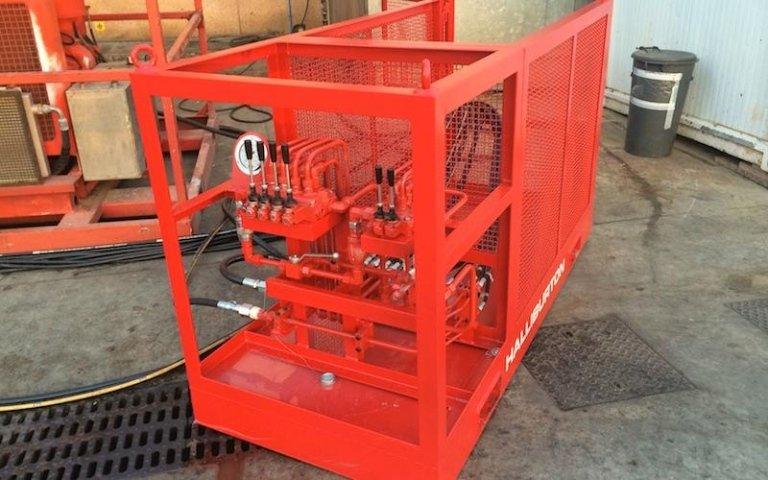 coiled tubing tower per halliburton italiana