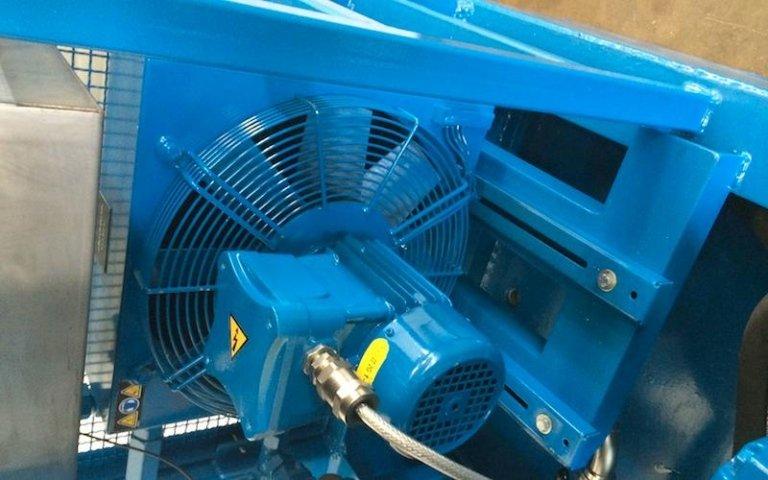hydraulic power unit ventilation