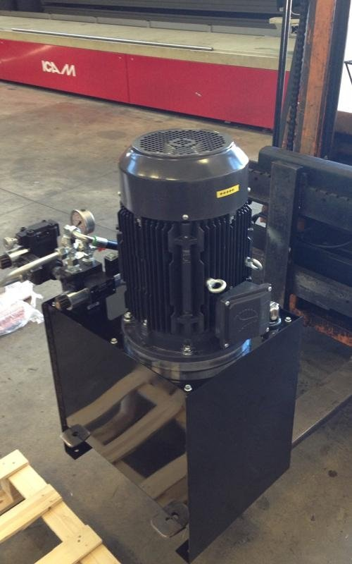 power unit for industrial process automation
