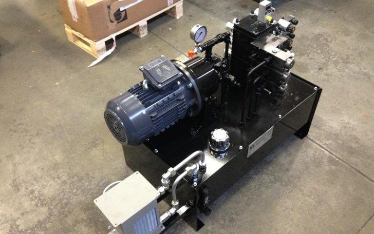 Fameccanica power unit manufacturing