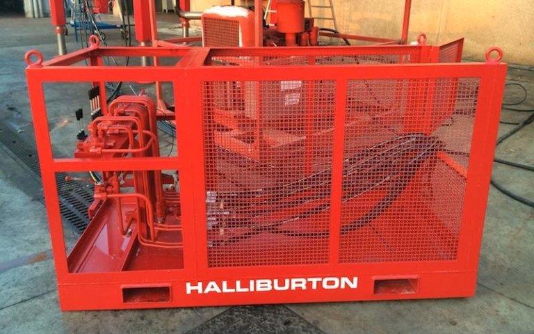 coiled tubing tower halliburton